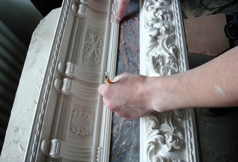 Форма для гипсовой лепнины своими руками